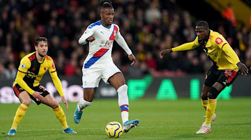 Roy Hodgson praises Wilfried Zaha's temperament after frustrating Watford outing