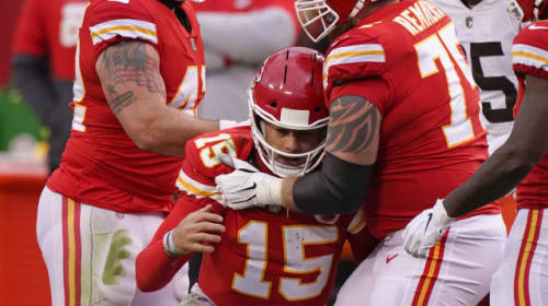 Cleveland Browns tumble out as Kansas City Chiefs go through to AFC Championship