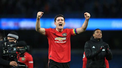 Manchester United defender Harry Maguire has his sights set on a top-four place