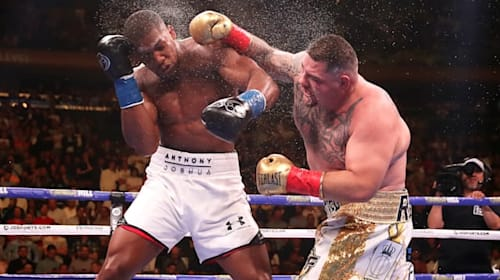5 fights that shaped Anthony Joshua's career