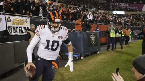 Trubisky gets four touchdowns as Bears beat Cowboys