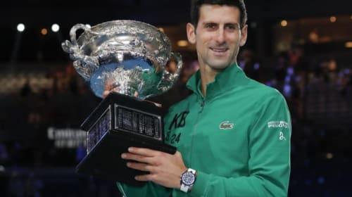 Australian Open day 14: Novak Djokovic battles to eighth Australian Open title