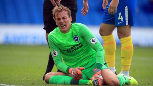 Injury hampered Christian Walton in Brighton number one battle – Graham Potter