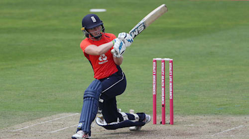 Knight hits unbeaten century as England cruise to victory over Thailand