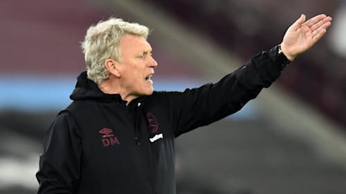 David Moyes urges West Ham to challenge at the top for rest of the season
