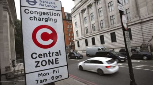 UK fleet and business operators spent £17 million on the Congestion Charge in 2020
