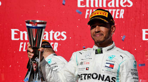 Hamilton: I haven't spoken to Wolff about new Mercedes deal