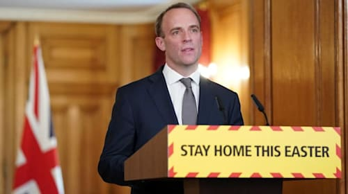 We have got this covered, says Dominic Raab as PM leaves intensive care