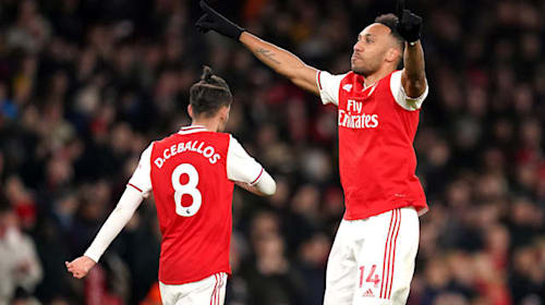 Four-some Gunners rout Newcastle