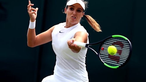 'My first hit in over a year' – Laura Robson on comeback trail after hip surgery