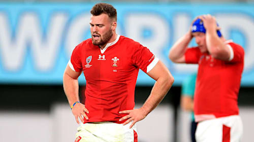 Lane released from Wales squad because of 'significant' hamstring injury