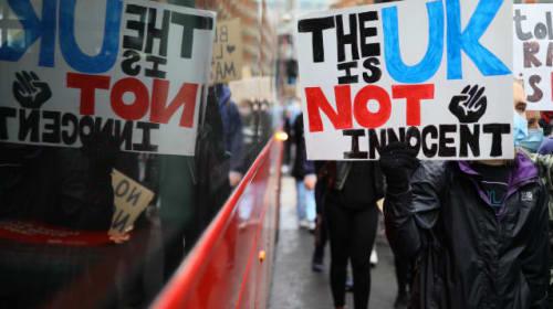 Thousands join Black Lives Matter protests despite Health Secretary's plea