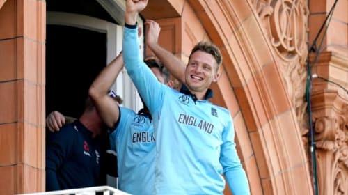 Jos Buttler's World Cup final shirt raises over £65,000 for charity