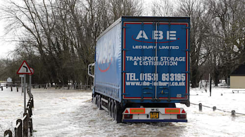 Third day of transport misery after Storm Dennis batters UK
