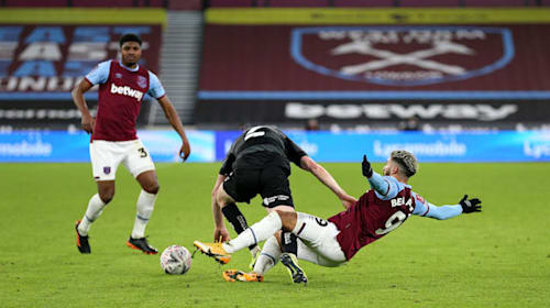 West Ham assistant manager Alan Irvine backs Said Benrahma to end goal drought