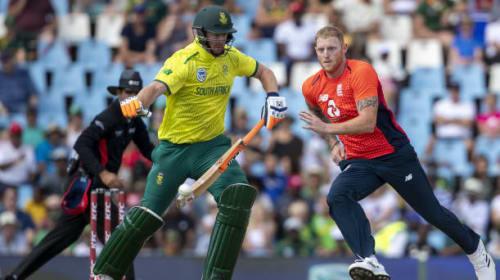 Heinrich Klaasen stars as South Africa set England 223 to win Twenty20 series