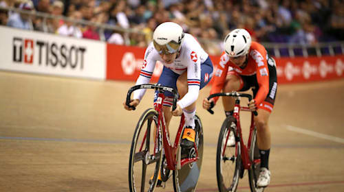 Neah Evans says competition for Olympic Madison places will go to the wire