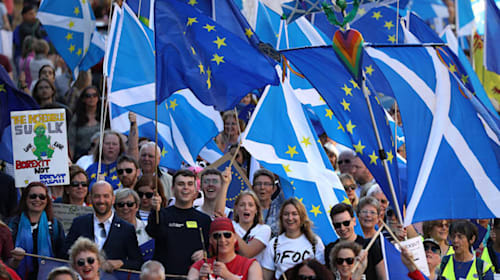Scotland would back independence if Brexit happens, poll indicates