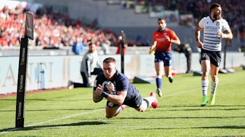 Hogg leads by example as Scotland beat Italy