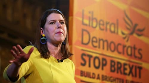 Swinson urges activists to 'channel the suffragettes' in last week of campaign