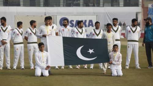 Pakistan celebrate 'historic' return of Test cricket after 10-year absence