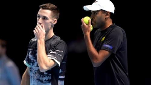 Britain's Joe Salisbury claims men's doubles title alongside American Rajeev Ram
