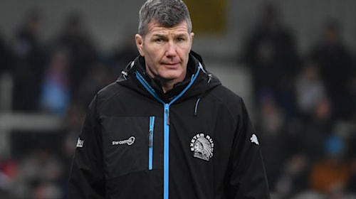 Exeter boss Rob Baxter named personality of the year by rugby writers' club