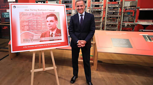 Alan Turing: wartime hero with 'brilliant mind'