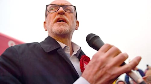 Jeremy Corbyn under fire after exit poll indicates devastating election defeat