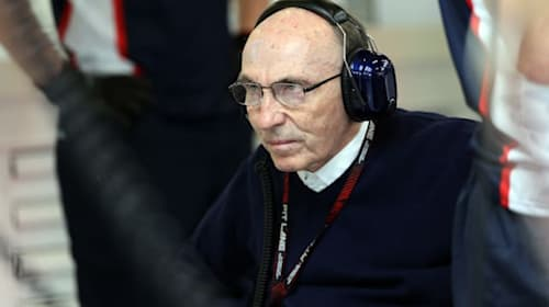 Sir Frank Williams 'on the mend at home' after being discharged from hospital