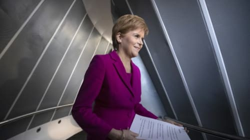 Sturgeon to welcome new SNP MPs after indyref2 call with Johnson