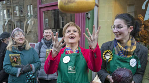 In Pictures: Final day on the General Election campaign trail
