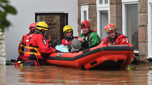 Water levels in Monmouth remain high with more bad weather on the way