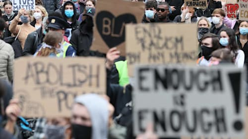 Black Lives Matter demonstrations staged across Ireland