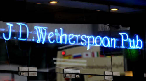 Wetherspoon sees costs hit profits but toasts sales hike