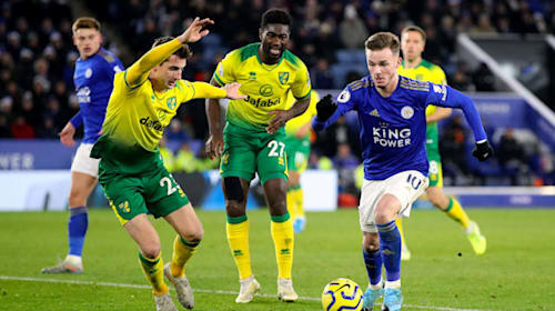 We'll take the point and move on – Maddison looking ahead after Norwich setback