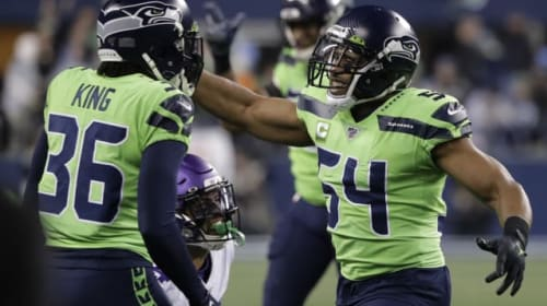 Seattle Seahawks move top of NFC West