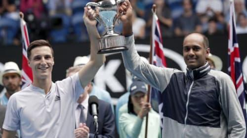 Salisbury eyeing doubles top spot after winning maiden grand slam title