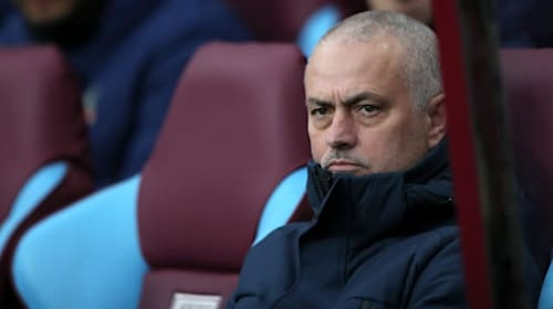 Mourinho jokes about Man City's 2018 title win after Spurs' victory at Villa