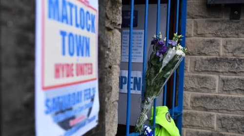 Three men arrested over Matlock Town footballer's death
