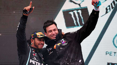 Mercedes not setting 'special date' for new Lewis Hamilton deal, says Toto Wolff