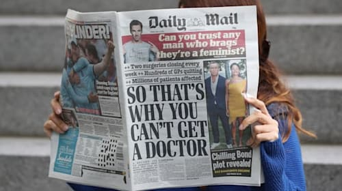 Daily Mail owner sees drop in circulation revenue, advertising plummets