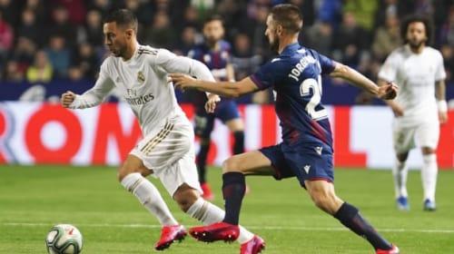 Zinedine Zidane unsure if Eden Hazard's season is over