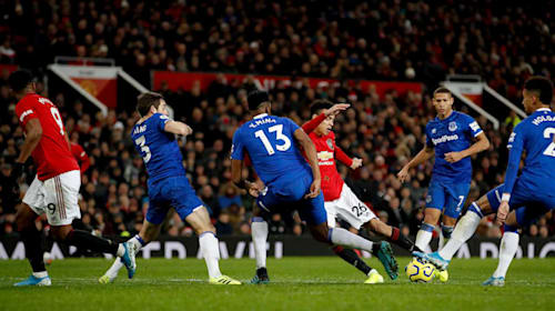 Academy star Greenwood rescues Manchester United with equaliser against Everton
