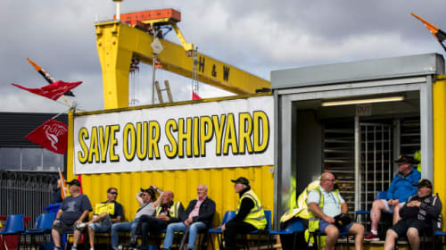 Several non-binding offers tabled for Harland and Wolff – administrators