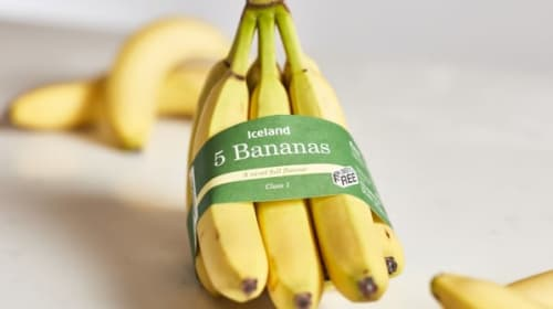 Iceland goes bananas after plastic-free packaging woes