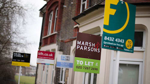 Number of private landlords 'shrinks to seven-year low'