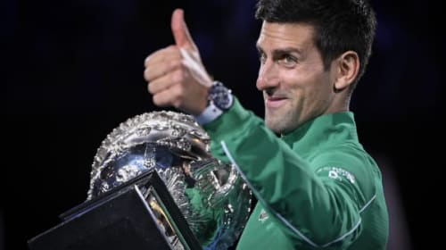 Djokovic relieved after hard-fought Australian Open final win over Thiem