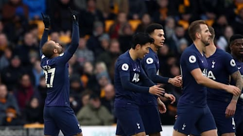 Tottenham snatch late winner at Wolves