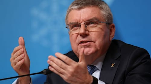 IOC president Thomas Bach insists Olympics will go ahead as planned